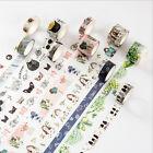 MC Home Novelty Patterns Decorative Washi Tape DIY Scrapbooking Masking Tape