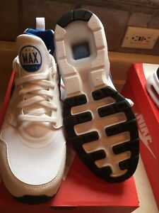 Details about NEW IN BOX Nike Men's Air Max Prime WhiteBlueGrey 876068 101 MSRP $110