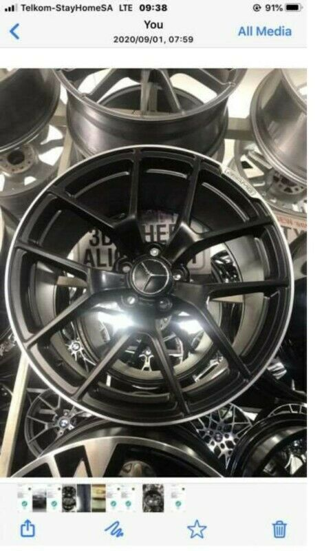 18 /19 inches AMG mags wheels 8.5 j and 9.5 j for sale brand new