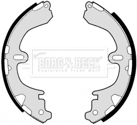 GENUINE 5 YEAR WARRANTY BRAND NEW Borg /& Beck Brake Shoe Set Shoes BBS6249