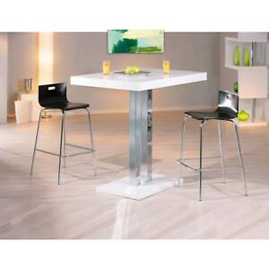 Table Salle A Manger Meuble Cuisine Rectangulaire Moderne Chrom