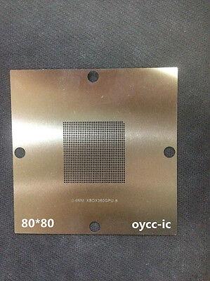 80*80 XBOX 360 SLIM XCGPU X CGPU X818337-001 X818337-002 Reball Stencil Template