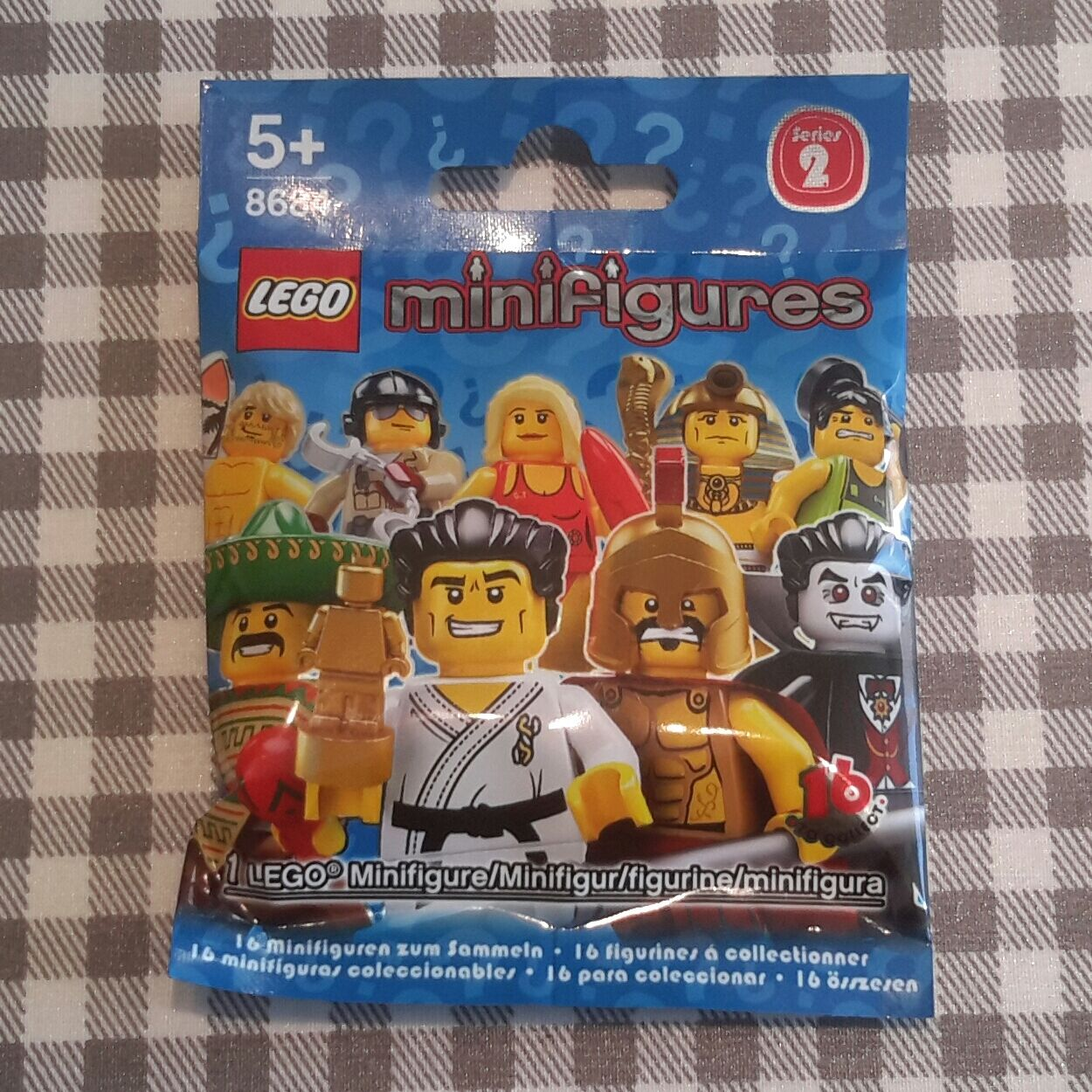 Lego minifigures series 2 (8684) complete unopened set of 16 16 16 new factory sealed 2d781c