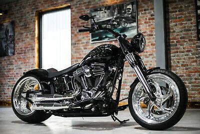 Gabelcover Forkslider Softail Touring Harley Davidson Gabelhülsen Forkcover CHR.