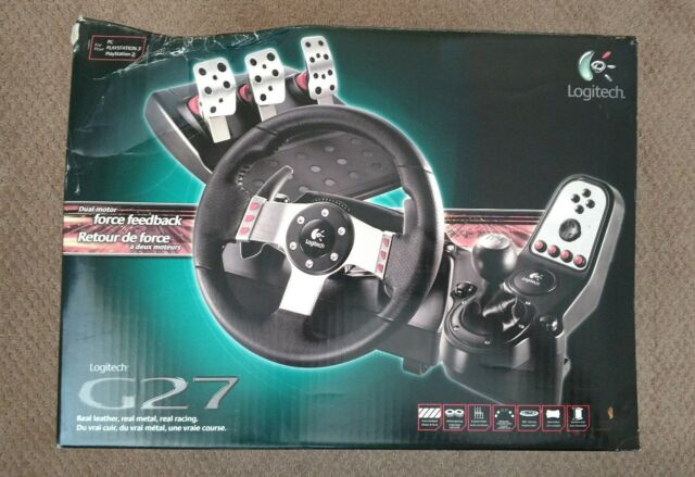 Logitech G27 (941000045) Racing Wheel - New