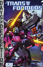 TRANSFORMERS (2015) #37 - Days of Deception - New Bagged