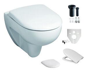 komplettset wand wc keramag renova nr1 beschichtung sitz zubeh r 203050600 ebay. Black Bedroom Furniture Sets. Home Design Ideas