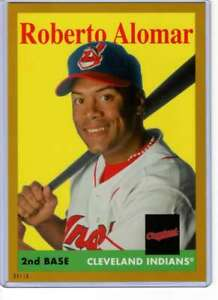 Roberto-Alomar-2019-Topps-Archives-5x7-Gold-7-10-Indians