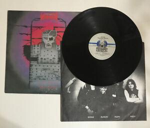 Voivod Dimension Hatross Original Vinyl LP 1988 Noise FW44262 Promo 1st Pressing