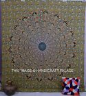 Indian Hippy Mandala Tapestries Psychedelic Throw Bedspread Vintage Wall Hanging