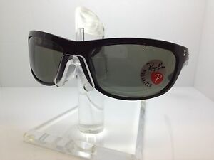 3fa2c5d5d1 NEW RAY BAN RB 4089 601 58 SUNGLASSES RB4089 RAYBAN BLACK GREY ...