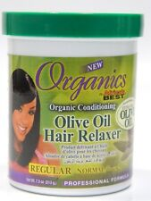 Africa's Best Organics Conditioning Olive Oil Hair Relaxer Regular 7.5 Oz