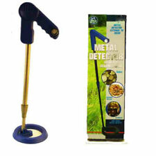Kids New Childrens Metal Detector Treasure Hunt Junior Bettery Operated Gift Set
