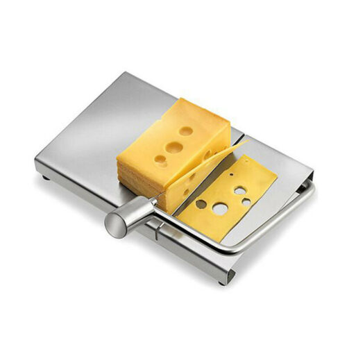 Cheese Butter Slicer Cutter Boards Stainless Steel Wire Cutters Baking Han VKB
