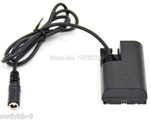 Spring 5.5x2.1mm male LP-E6 DR-E6 Dummy Battery for Canon 5D3 5D4 60D 70D 80D