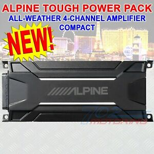 Alpine KTA-30FW 4-Channel  Power Pack Amplifier For Harley Davidson Bikes NEW