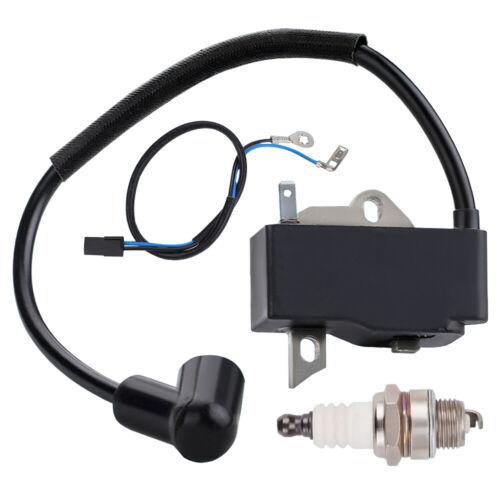 Ignition for Husqvarna 128CD 28cc Gas Line Lawn Trimmer Coil /& Spark Plug Kit