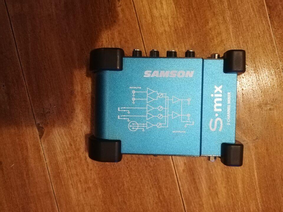 Samson s-mix, Samson S-mix