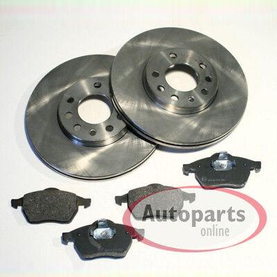 Saab 9-3 Bremsscheiben belüfet Bremsen Bremsbeläge für hinten die Hinterachse