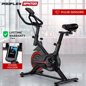 NEW-PROFLEX-Spin-Bike-Flywheel-Commercial-Gym-Exercise-Home-Fitness-Red