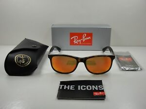 d0db0c7a3ee RAY-BAN ANDY POLARIZED SUNGLASSES RB4202 710 6S TORTOISE ORANGE ...