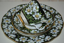 Royal Albert-England-Provincial Frowers-Mountain Avens-Gedeck-3Tlg.-1975-Top!!!