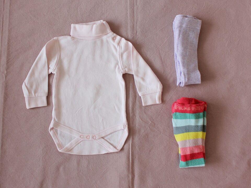 Blandet tøj, PIGE, STR 56 Body og strømpebukser