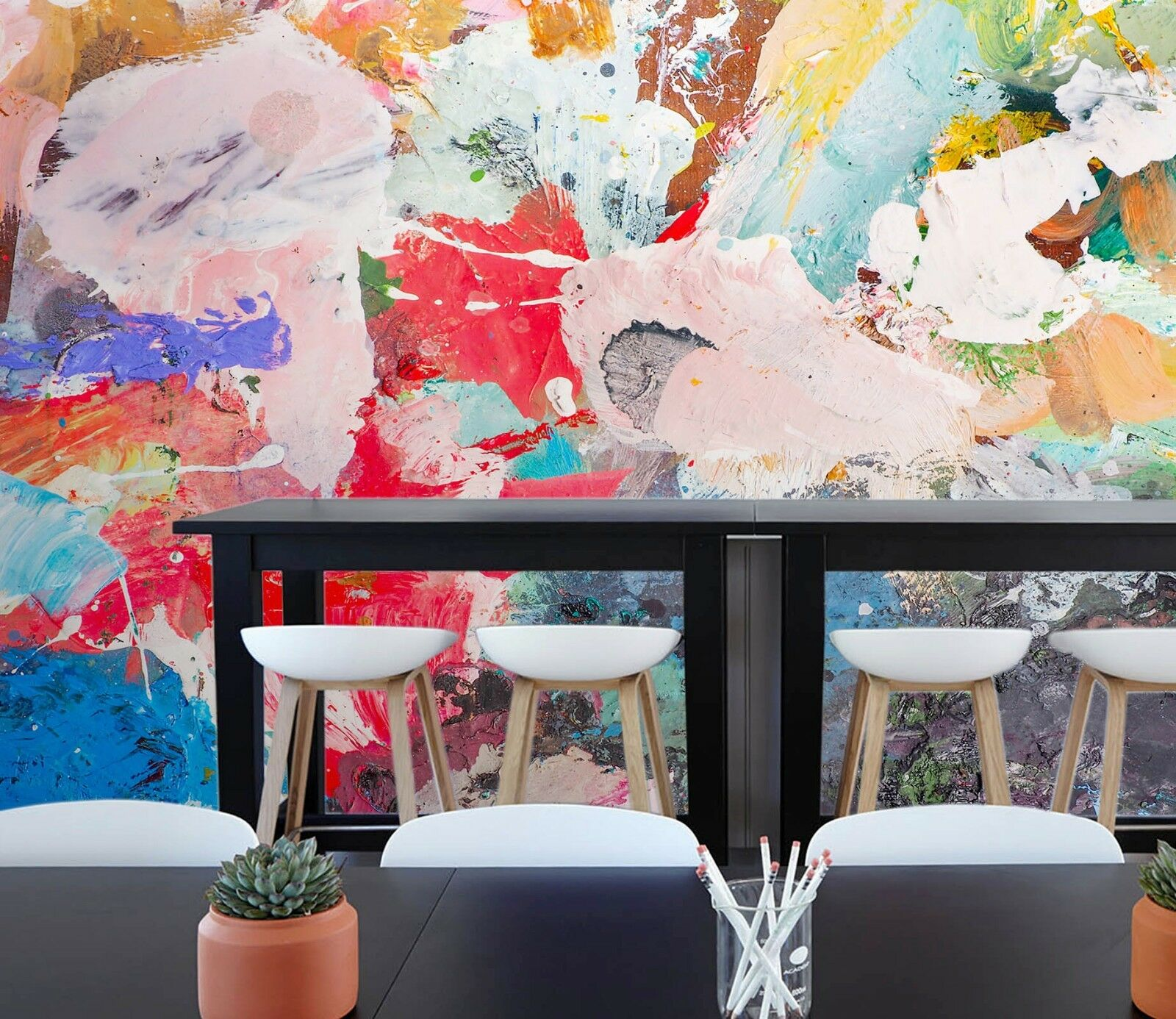 3D Graffiti Farbe Paint  45 Wall Paper Wall Print Decal Wall Deco Indoor Murals
