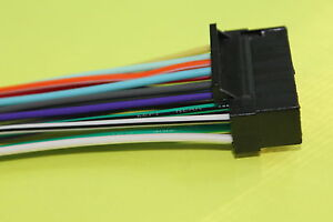wire harness for sony xav 601bt *includes 1 harness (100% copperimage is  loading