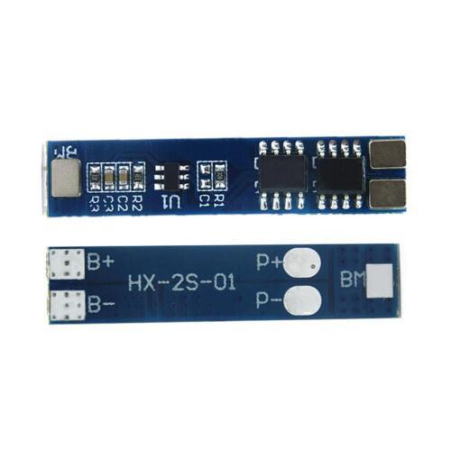 2X 2S 8A 7.4V 8.4V Lithium Cell Li-ion BMS Battery 18650 protection PCB Board v
