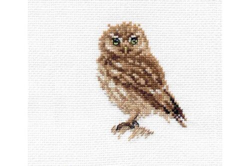 Cross Stitch Kit Owl