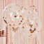 miniature 14 - Lot-de-12-confettis-ballons-latex-12-034-decorations-a-L-039-helium-Fete-D-039-anniversaire-Mariage