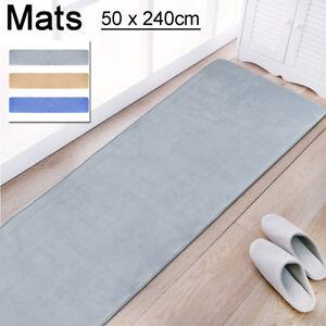 Waterproof-50-240CM-Non-Slip-Dining-Room-Home-Bedroom-Narrow-Carpet-Floor-Mats