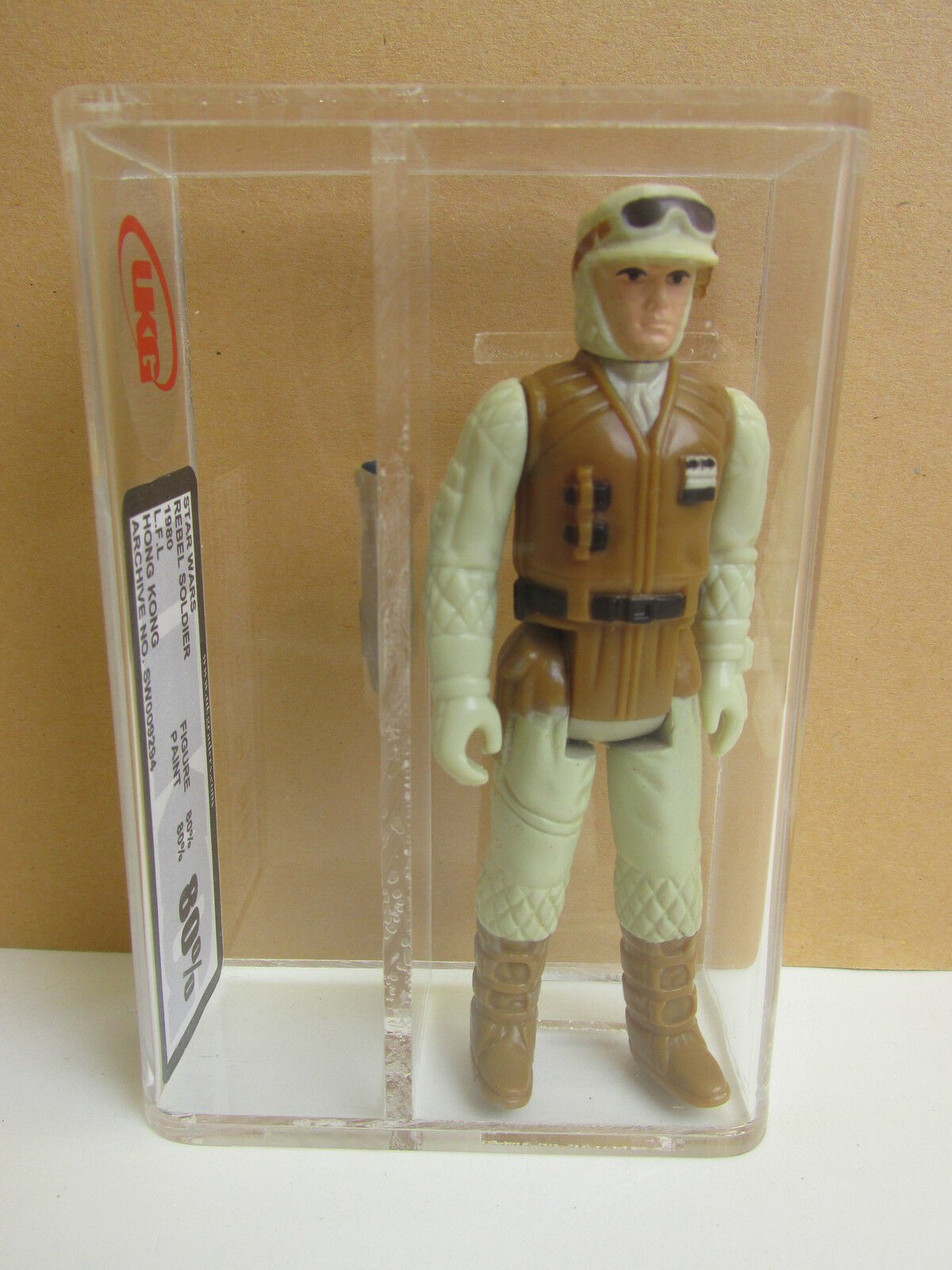 Star wars VINTAGE hoth REBEL SOLDIER ACTION FIGURE original UKG not AFA ESB