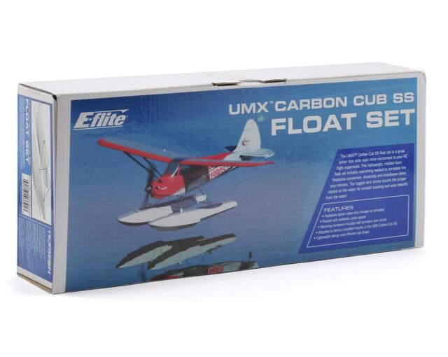 E-Flite EFLUA1190 Float Set w/Accessories: Ultra-Micro UMX Carbon Cub SS