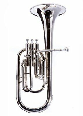Musical Instruments & Gear Careful Fever Deluxe Alto Horn Silver Plated Alto Horns