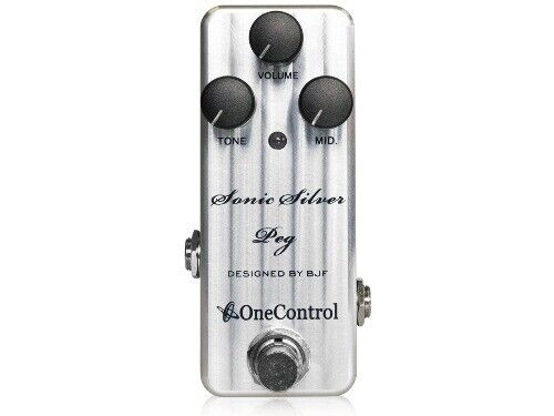 One Control Sonic Silber Stange Effektpedal