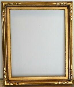 VIntage-newcomb-macklin-style-carved-gold-leaf-frame-fits-15-x-18-painting