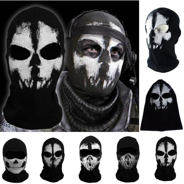 5 Pack Skull Mask Skull Face Mask Motorcycle Bicycle Half Face Skeleton Mask Hal For Sale Online Ebay