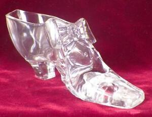 1876-Centennial-Exposition-Glass-Shoe-Gillinder-amp-Sons-Souvenir-EAPG-Rare-Good