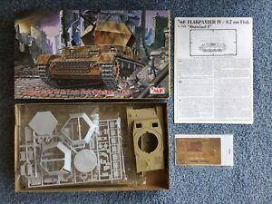 CMK-1-35-Flakpanzer-IV-3-7-cm-flak-Ostwind-Plastic-Model-Kit-T35004