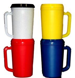 Tafelen USA Lead Free No Bpa 2 Large Insulated Mugs 20 Ounce