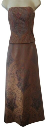 $850 Kay Unger 6 top skirt set 2 piece dress lots