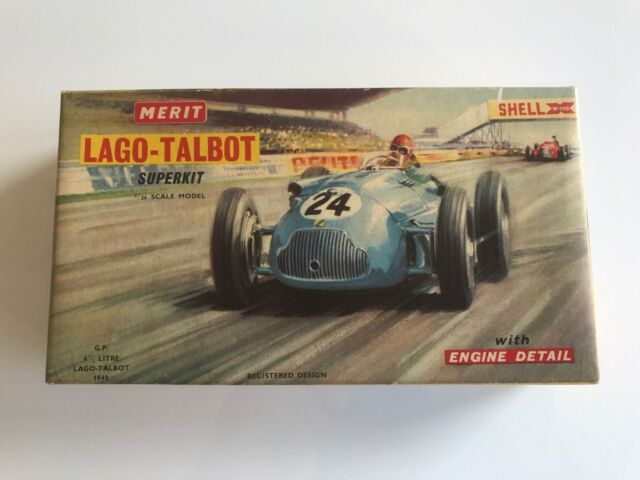 MERIT Superkit Car Kit LAGO TALBOT Boxed with instructions & original glue