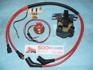 FIAT-500-F-L-R-126-KIT-COMPLETO-MODIFICA-ACCENSIONE-ELETTRONICA-MAGNETICA-BOBINA