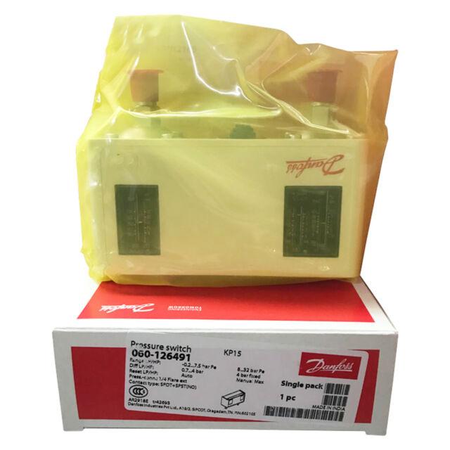 A●DANFOSS KP15 060-126491  Pressure Switch New