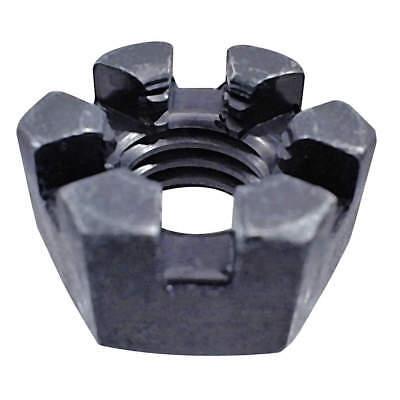 U12020.075.0001 FABORY Castle Nut,3//4-16,Gr 2,Steel,Plain,PK5