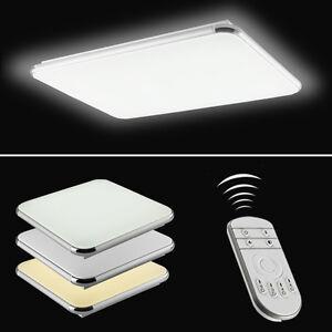 Ultraslim LED Deckenleuchte Schlafzimmer Deckenlampe Dimmbar ...