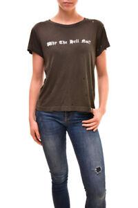 Wildfox 64 Bcf84 S Women's Taglia Pinhole £ Authentic Shirt Why Nero Rrp vvqr1P