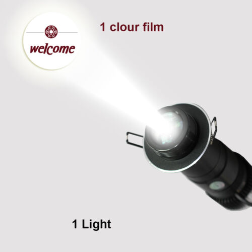 10W Embedded LED Gobo Projector Advertising Logo Light Gobo Projector